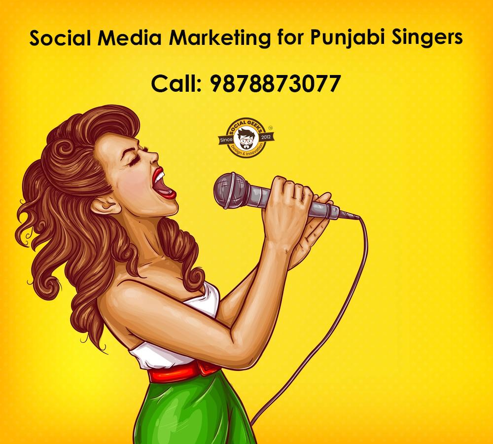 Social Media Marketing for Punjabi Singers